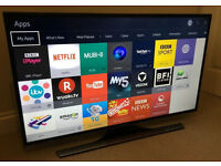 40in Samsung 4k UHD SMART TV -1000hz- wifi - Freeview HD - WARRANTY