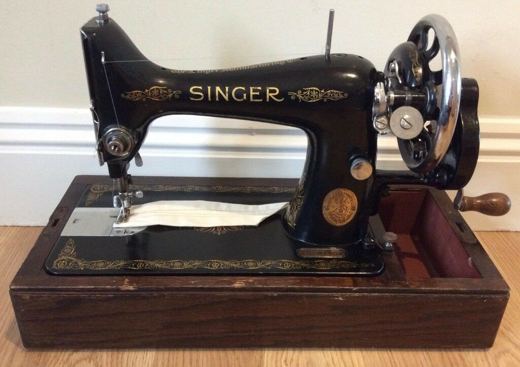 Vintage Singer 40K Hand Sewing Machine PreOwned Serviced Stunning Singer Hand Sewing Machine