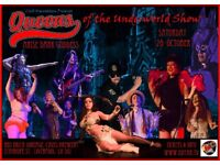 Halloween Cabaret Show, Queer Cabaret, Voodoo , Music, Drag, Dance and Mystery