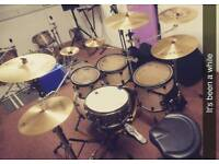 Mapex drum kit and cymbals