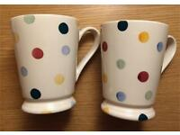 Emma Bridgewater Polka Dot Cocoa Mugs