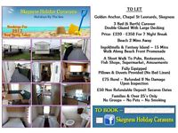 Static Caravan To Rent (Verified Owner) 3 Bed (6 berth) Chapel St Leonards, Skegness