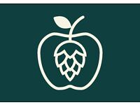 ** FULL TIME STAFF REQUIRED** Brand new Ale & Cider house - KINGSTON