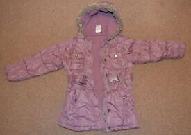 M&co Girl coat 5-6 years