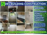 Tiling, Carpentry, Painting, Maintenance, Handyman, Best In Bristol