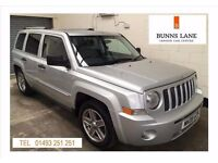 Jeep Patriot Limited Crd 2.0 Diesel Fsh Heated Leather 6 Speed Sun roof Air Con 3 Month Warranty