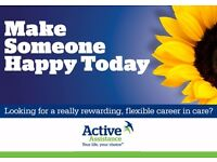 Carers / Support Workers near Banbury, Oxford- up to £10.50 p/h