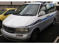 Nissan Largo, 2.4 Petrol, 6 months MOT, recent service - great MPV/day van/overnighter