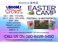 Boom Sports - Easter Holiday Sports Camp - Football & Multisport - Hammersmith and Fulham