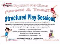 Gymnastics Classes - Parent and Toddler