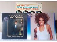 3 LPs - Whitney; Neil Diamond; Roy Orbison