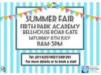 Friends of Firth Park Academy Summer Fair 2017
