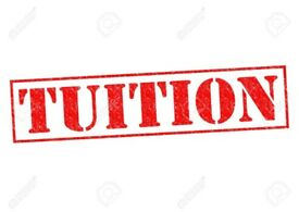 Tuition, private tutor £6.50, Group tuition