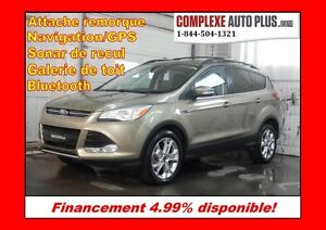 2013 Ford Escape SEL AWD 4x4 2.0L Ecoboost *Navi/GPS, Cuir