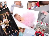Professional Family Photographer - £9.95 Photoshoot With Prints (Newborn, Family, Maternity)