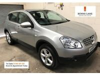 2009 59 Nissan Qashqai Acenta Auto *1 Owner From New* Bluetooth, Air Con Parking Sensors Warranty