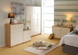 Genoa Assembled Bedroom Furniture **Home Delivery Available**