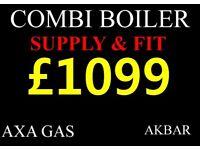 BOILER INSTALLATION, backboiler removed, GAS SAFE, under floor heating,MEGAFLO Cylinder, PLUMBING