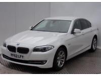 BMW 5 Series 520D SE (white) 2013-02-07