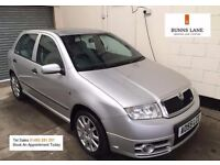 Skoda Fabia VRS 130bhp 1.9 pd 1 Owner Heated Seats Air con Alloys Immaculate 3 Month Warranty