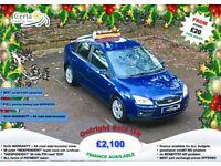 £20 wk 6mth WARRANTY & AA cover! ford FOCUS GHIA 1.6 petrol MANUAL 2007 (57) ALLOYS FSH