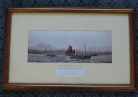 Annalong Fishing Boats Mourne Framed Print