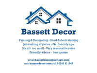 Painting & Decorating (inc Garden service)