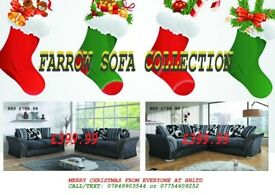 MERRY CHRISTMAS ****BRAND NEW FARROW SOFA COLLECTION****WE DELIVER UK WIDE, CALL FOR YOUR QUOTE****