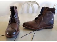 Base London Siege Washed Boots - Brand New