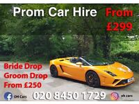 PROM CAR - last minute prom car - Rolls Royce Phantom Hire - Lamborghini Hire and much more