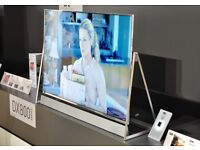 "Panasonic 50DX802B LED HDR 4K Ultra HD 3D Smart TV, 50"" Sound Bar & Art & Interior Freestyle Design"