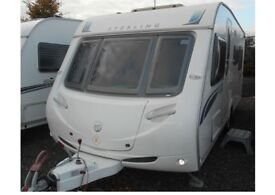 Sterling Eccles Opal 2008. 4 Berth, Motor Mover, Island Bed, Separate Shower, Immaculate Condition