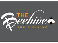 Great Opportunities for Bar Manager and Bar Staff at the Beehive Pub & Dining
