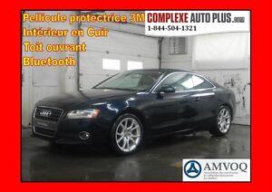 2010 Audi A5 2.0T QUATTRO* Cuir, Toit, Mags
