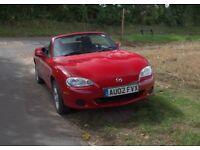 Mazda MX5 1.8 Red 2002