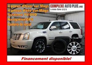 2008 Cadillac Escalade *GPS,DVD,TOIT, 8 mags 8 pneus