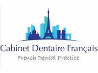 Assistant(e) dentaire -meme debutant- pour cabinet francais du centre de Londres