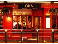 Waiters & waitress required For Oka Primrose Hill great pay