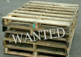 Wooden pallets WANTED - Worcester Park