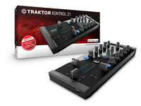 Traktor Kontrol Z1 with TRAKTOR LE 2 TRAKTOR KONTROL Z1 Edition software transfer + AMP & Speakers
