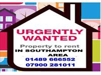 Wanted 2 bed house flat .. in locks Heath Southampton areas