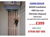 £399 Combi Boiler Installation,Replacement,Relocation,VAILLANT,Back Boiler & Tanks Removed,HEATING