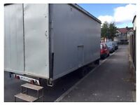 Mobile Site Office, Toilet and Canteen 15feet long x 7 feet wide.