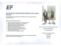 Do you have a spare room? Become a Host Family with EF Language School