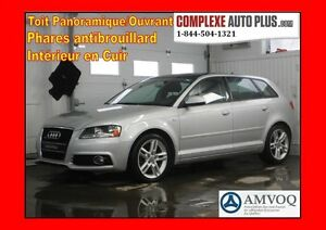 2011 Audi A3 2.0T S-LINE QUATTRO *Toit Pano. Cuir, Mags! AWD