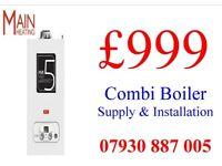 BOILER SUPPLY & INSTALLATION £999,Unvented megaflo,SYSTEM TO COMBI CONVERSION,WET Underfloor heating
