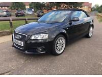 2010 Audi A3 S Line TDI Convertible Cabriolet 53,000 Miles