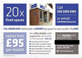 Amazing Co Work space in BROMPTON - Desks from £95 / month - SW5 0BS - Apply Now, Spaces Limited!