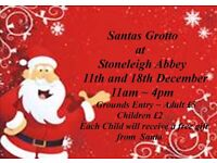 Santas Grotto at Stoneleigh Abbey