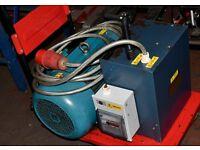 MOTORUN Rotary Converter 10hp/7.5kW - Single to 3-phase 240v to 415v phase converter